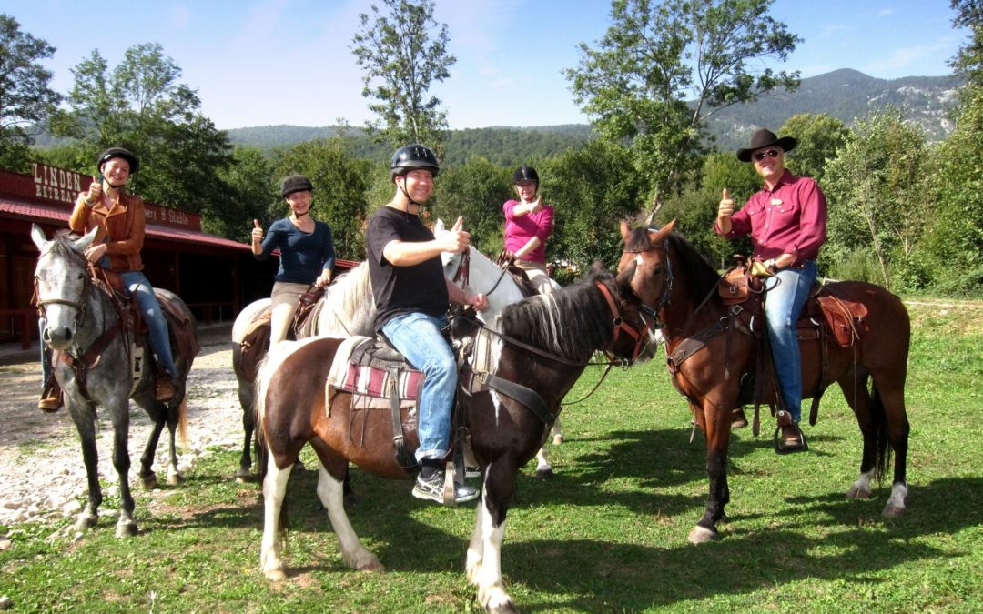 Linden Tree horse riding guide